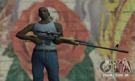 Rifle Sniper para GTA San Andreas terceira tela