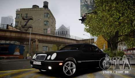 Mercedes-Benz E280 Beta para GTA 4 vista de volta