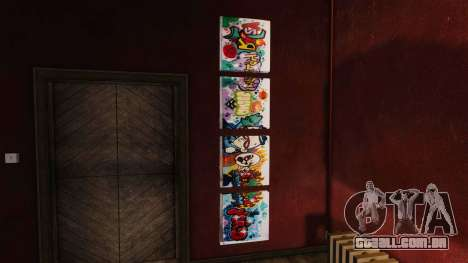 Novos cartazes no apartamento Playboy para GTA 4 terceira tela