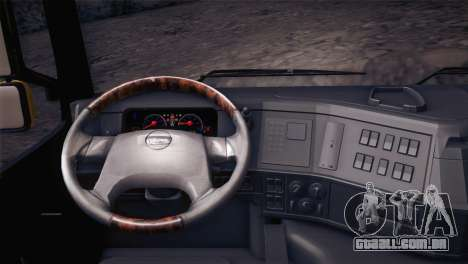 Volvo FM12 8X4 Dumper para GTA San Andreas vista direita