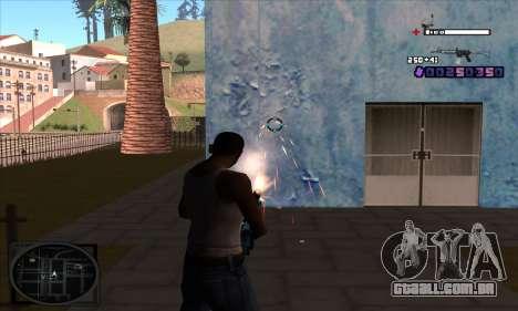 C-HUD Belenky para GTA San Andreas segunda tela