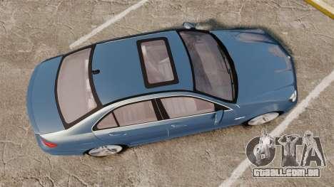 Mercedes-Benz C63 AMG 2013 para GTA 4 vista direita