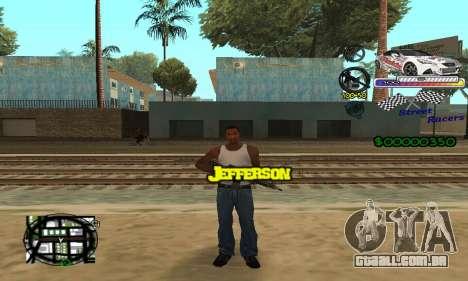 HUD Races para GTA San Andreas