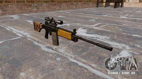 Fuzil de assalto Galil IMI para GTA 4
