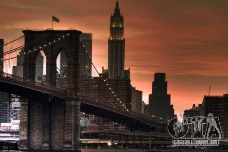 As telas de carregamento, de Nova York para GTA 4 por diante tela
