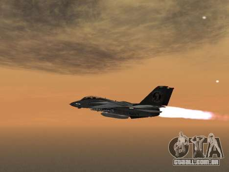 F-14 LQ para GTA San Andreas esquerda vista