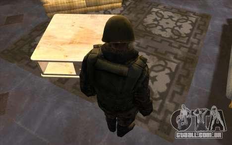 Soldados do SA, e a guarda Nacional Mississippi para GTA San Andreas quinto tela