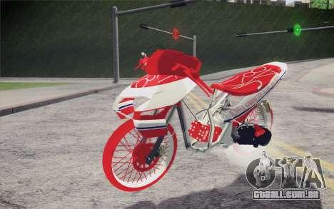 Vario Drag version JKT48 para GTA San Andreas
