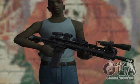 OBR Warfighter-Larue do Medal of Honor para GTA San Andreas terceira tela