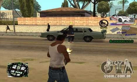 HUD Races para GTA San Andreas terceira tela