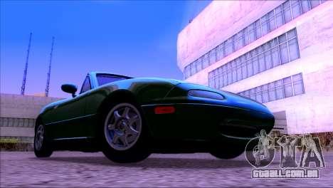 ENBSeries by egor585 V4 para GTA San Andreas por diante tela