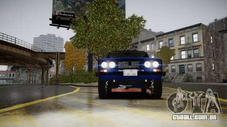VAZ 2106 Baku para GTA 4 vista de volta