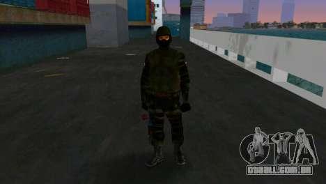 Lutador Alfa Antiterror para GTA Vice City terceira tela