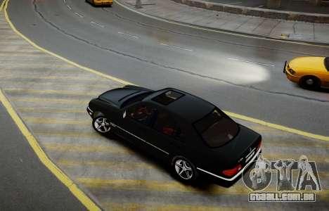 Mercedes-Benz E280 Beta para GTA 4 traseira esquerda vista