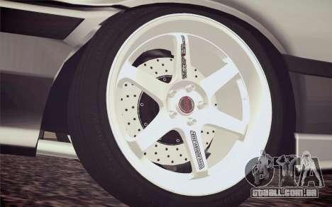 BMW M3 E36 Angle Killer para GTA San Andreas traseira esquerda vista