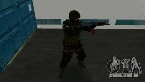 Lutador Alfa Antiterror para GTA Vice City quinto tela