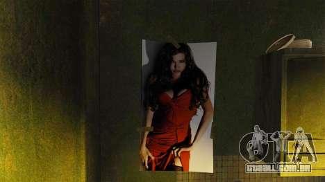 Novos cartazes no apartamento da Novela para GTA 4 por diante tela
