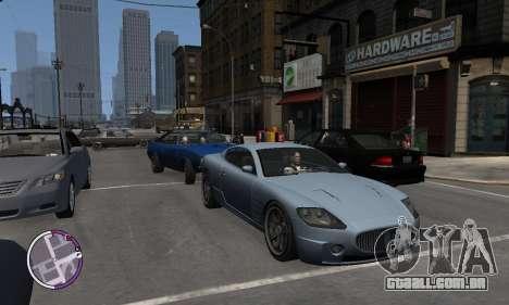 F620 из GTA 4 EFLC TBOGT para GTA 4 vista de volta