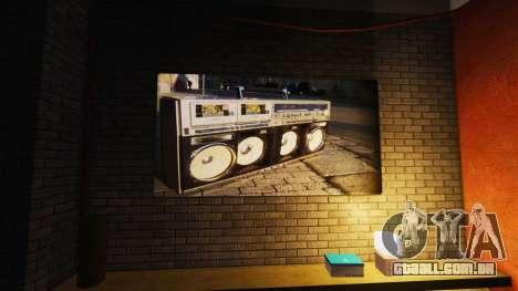 Novos cartazes no apartamento Playboy para GTA 4 por diante tela