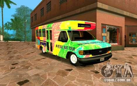 Ford E350 Shuttle Bus para GTA San Andreas