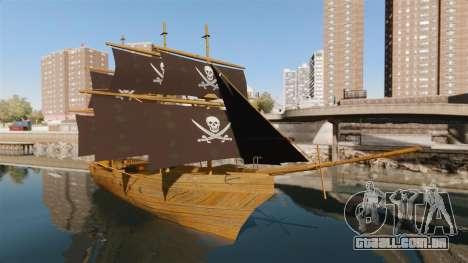 Navio pirata para GTA 4