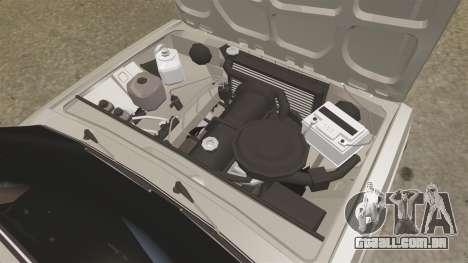 Vaz-2105 para GTA 4 vista de volta