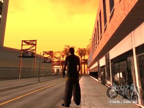 Pele Tracer para GTA San Andreas terceira tela