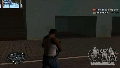 C-Hud by Stan Gomez para GTA San Andreas segunda tela