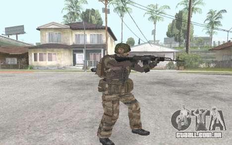 AK-101 para GTA San Andreas segunda tela