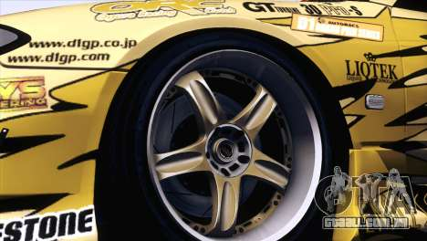 Nissan Silvia S15 TopSecret para GTA San Andreas vista direita