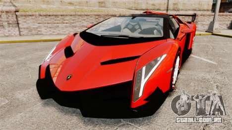 Lamborghini Veneno Roadster LP750-4 2014 para GTA 4