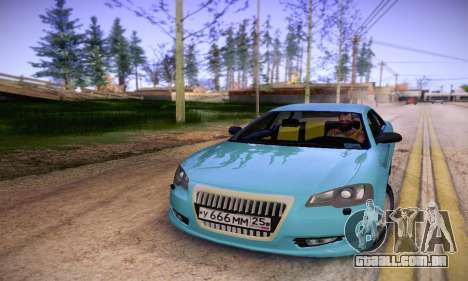 Volga Siber 2.5 AT Restyling para GTA San Andreas vista traseira