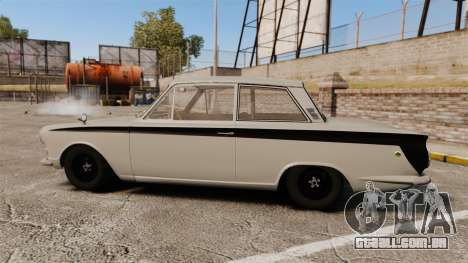 Lotus Cortina 1963 para GTA 4 esquerda vista