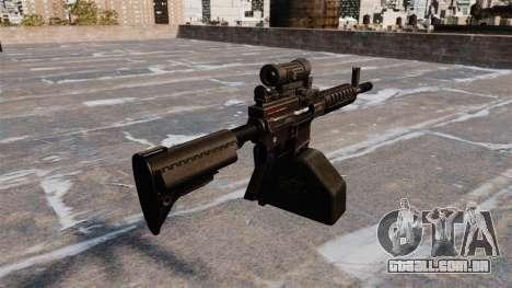 Ares Shrike 5,56 metralhadora leve para GTA 4 segundo screenshot