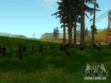 Biker Party 1.0 para GTA San Andreas segunda tela