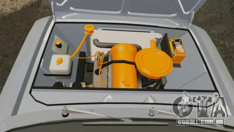 VAZ-Lada 2101 URSS para GTA 4 vista interior