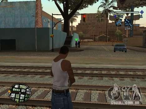 C-HUD Tawer para GTA San Andreas segunda tela