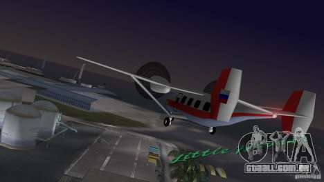 O an-28 para GTA Vice City deixou vista