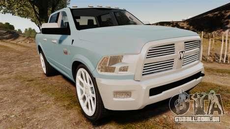 Dodge Ram 3500 Heavy Duty para GTA 4