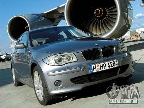 Arranque telas BMW 120i para GTA 4