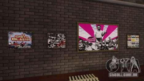 Novos cartazes no apartamento Playboy para GTA 4
