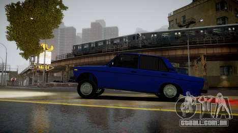 VAZ 2106 Baku para GTA 4 esquerda vista