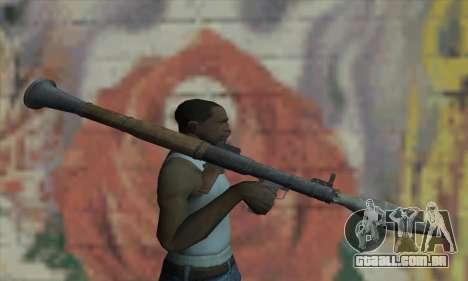 RPG para GTA San Andreas terceira tela