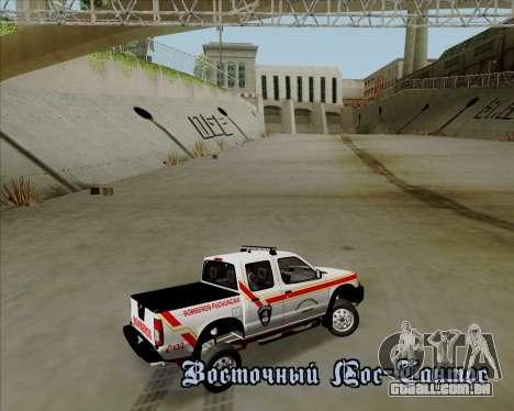 Nissan Terrano para as rodas de GTA San Andreas