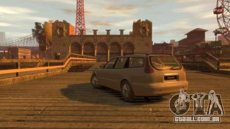 Daewoo Leganza Wagon para GTA 4 esquerda vista