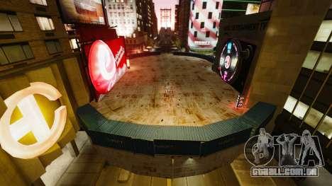 Open arena para veículos de combate para GTA 4