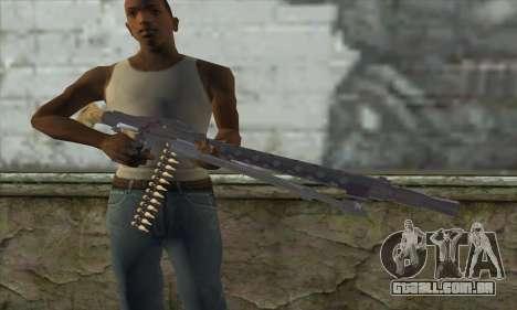 MG42 para GTA San Andreas terceira tela