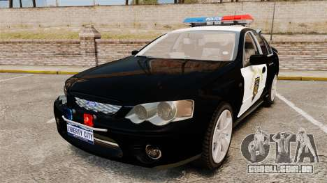 Ford BF Falcon XR6 Turbo LCHP [ELS] para GTA 4