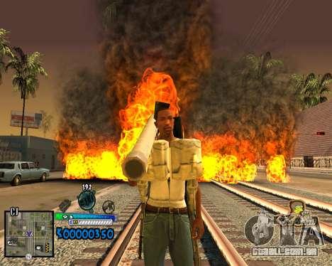 C-HUD Old School para GTA San Andreas segunda tela