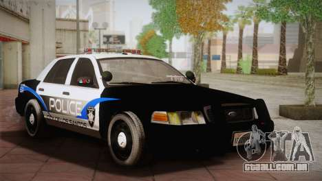 Ford Crown Victoria Police Interceptor 2009 para GTA San Andreas